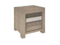 LivingStyles Lafite Acacia Timber Bedside Table