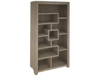 LivingStyles Lafite Acacia Timber Bookcase