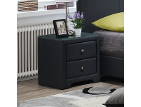 Dominik Fabric Upholstered Bedside Table