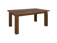 LivingStyles Mulford Solid Pine Timber Dining Table, 180cm