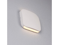 LivingStyles Vox IP54 Exterior Up/Down LED Wall Light, White