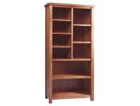 LivingStyles Cooper Mountain Ash Timber Bookcase