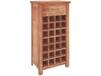 LivingStyles Cooper Mountain Ash Timber Wine Rack