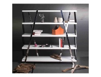 LivingStyles Tysh High Gloss Display Shelf