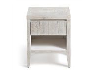LivingStyles Woodend Reclaimed Pine Timber Side Table