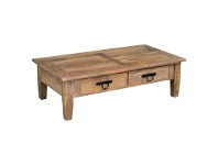 LivingStyles Parson Mango Wood Timber Coffee Table