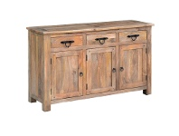 LivingStyles Parson Mango Wood Timber Sideboard