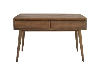 LivingStyles Stuart Solid Mango Wood Timber Console Table with Drawers