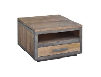 Solon Mango Wood Square Side Table