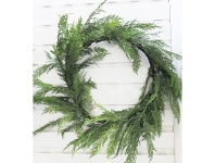 LivingStyles Christmas 70cm Cedar Wreath