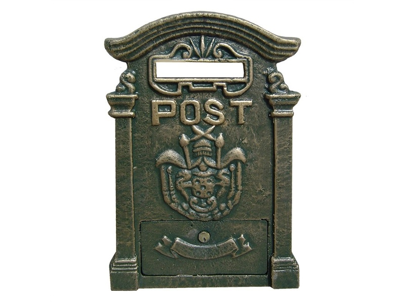 Royal Post Cast Iron Slot Letterbox