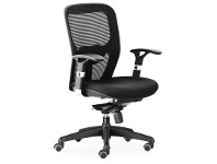 LivingStyles Denmark Fabric Office Chair