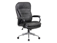 LivingStyles Titan Leather High Back Executive Chair