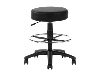 LivingStyles Brandon Gas Lift Utility Drafting Stool