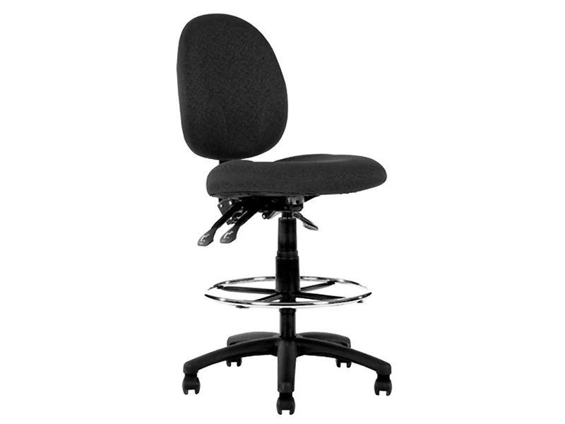 Lincoln Fabric Office Drafting Chair