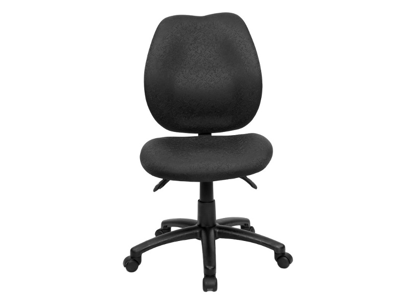 Sabina Fabric Office Chair, Black