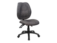Sabina Fabric Office Chair, Grey