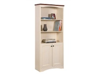 LivingStyles Nepean Bookcase with 2 Doors