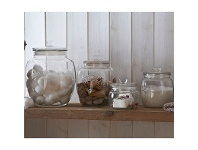 LivingStyles Kilner Universal Push Top Storage Jar - 4 Litre
