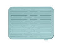 LivingStyles Brabantia Silicone Dish Drying Rack, Mint