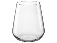 LivingStyles Bormioli Rocco Inalto Uno Stemless Wine Glasses, Set of 6