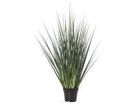 LivingStyles Potted Artificial River Grass, 104cm