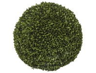 LivingStyles Artificial Box Leaf Ball, 50cm