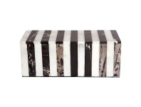 LivingStyles Hillcrest Marble Storage Box, Rectangle