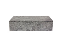 LivingStyles Academy Marble Storage Box, Large