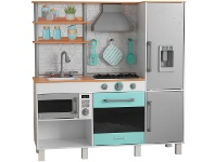 LivingStyles KidKraft Gourmet Chef Play Kitchen with EZ Kraft Assembly