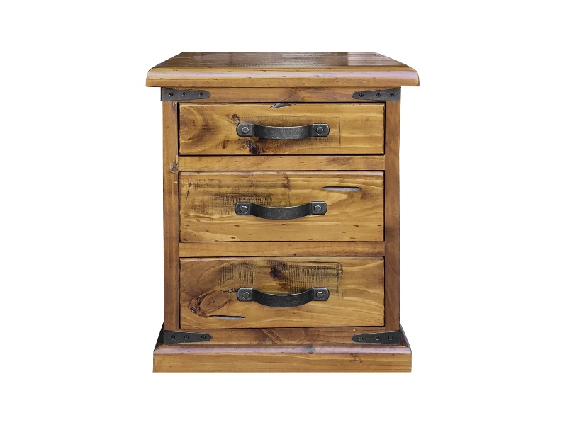 Menora Pine Timber Bedside Table
