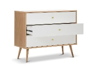 LivingStyles Liena Wooden 3 Drawer Chest