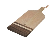 LivingStyles Faulkner Timber Paddle Serving Board, Small