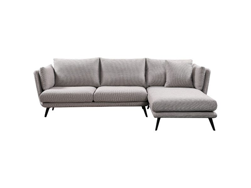 Ranni Commercial Grade Fabric Corner Sofa, 3 Seater with RHF Chaise