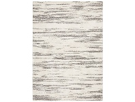 LivingStyles Broadway River Modern Rug, 200x290cm, Charcoal