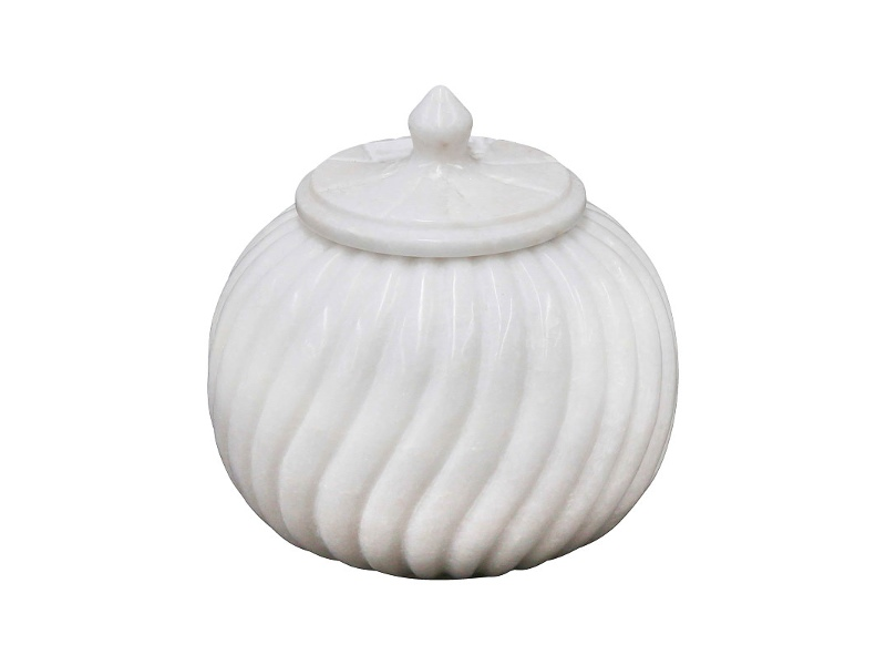 Sutton Marble Canister, Large