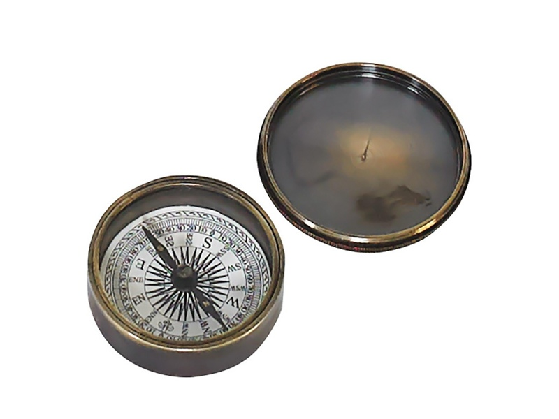 Victorian Pocket Compass