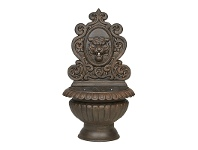 LivingStyles Anderson Cast Iron Garden Wall Fountain