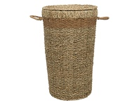 LivingStyles Emi 2 Piece Seagrass Hamper Set