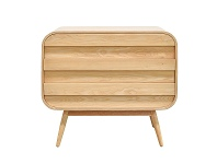 LivingStyles Johnny Wooden 3 Drawer Chest