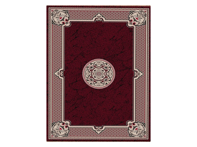 Shiraz Margaret Oriental Rug, 80x150cm, Red