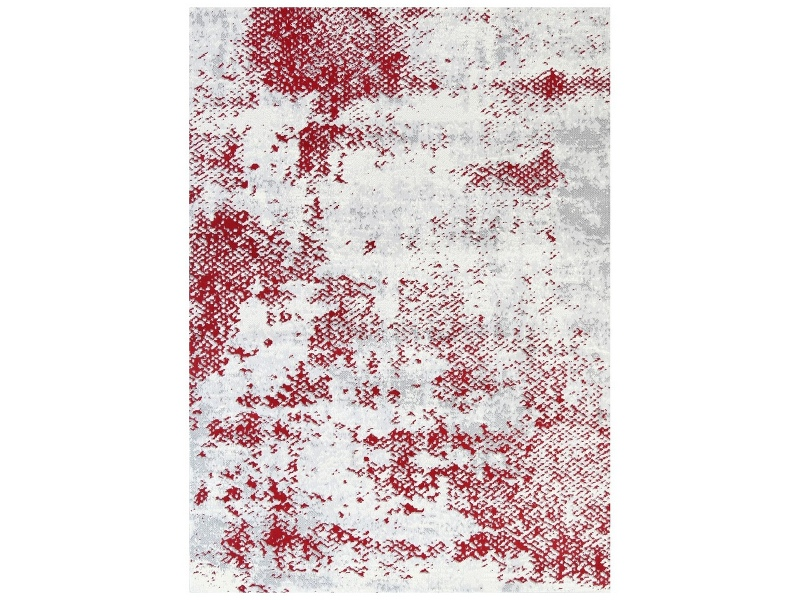 Allure Abstract Modern Rug, 160x230cm, Red