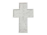 LivingStyles Northford Wooden Cross Wall Decor, Large
