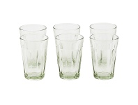 LivingStyles Chaville Glass Tumblers, Set of 6