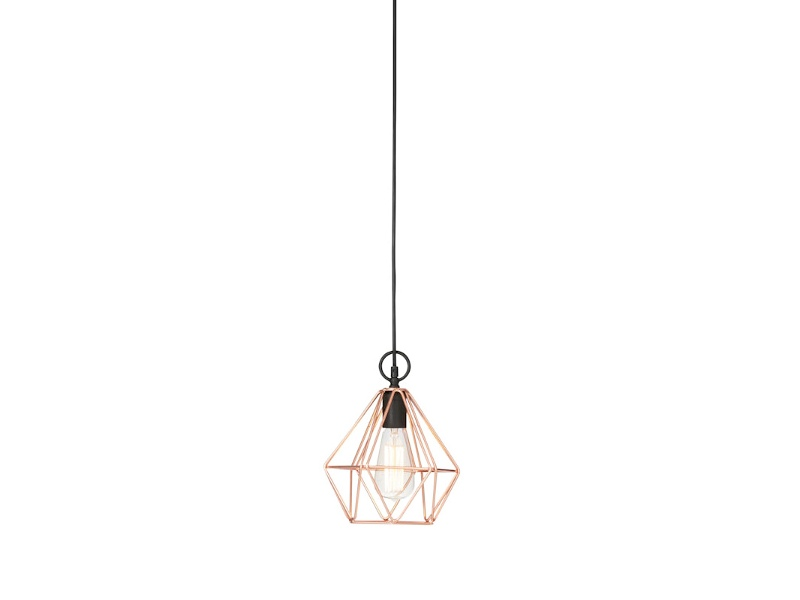 Coop Metal Wire Pendant Light
