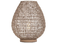 LivingStyles Lonsdale Paper & Metal Table Lamp, Natural