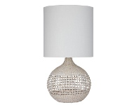 LivingStyles Noosa Rattan Base Table Lamp