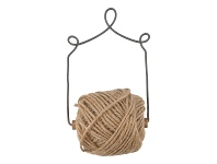 LivingStyles Masai Iron Hanging with Jute Twine Disperser