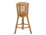 LivingStyles Aerium Rattan Planter Stand