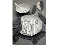 LivingStyles Noritake Alzette 56 Piece Stainless Steel Cutlery Set